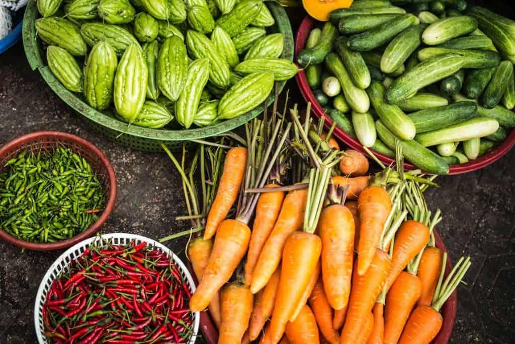 variety vegetable garden